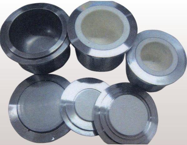 Размольные стаканы с различными внутренними покрытиями