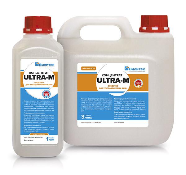 Концентрированные моющие средства ULTRA-M