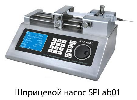 Шприцевой насос SPLab01 двухканальный