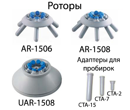 Роторы для центрифуг серии DSC-200
