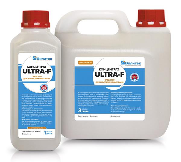 Концентрированные моющие средства ULTRA-F
