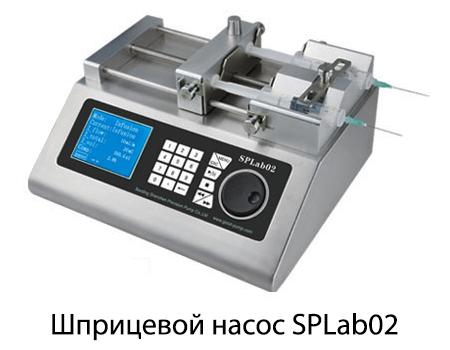 Шприцевой насос SPLab02 двухканальный