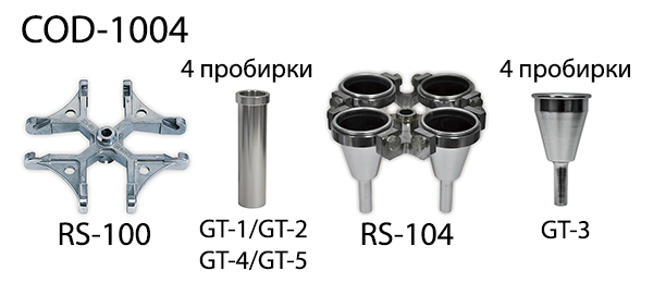 Роторы для центрифуги COD-1004