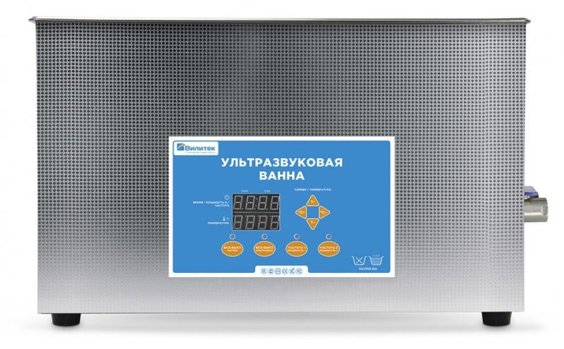Ультразвуковые ванны двумя рабочими частотами 28 и 40 кГц, таймером, подогревом, цифровым управлением и функцией дегазации