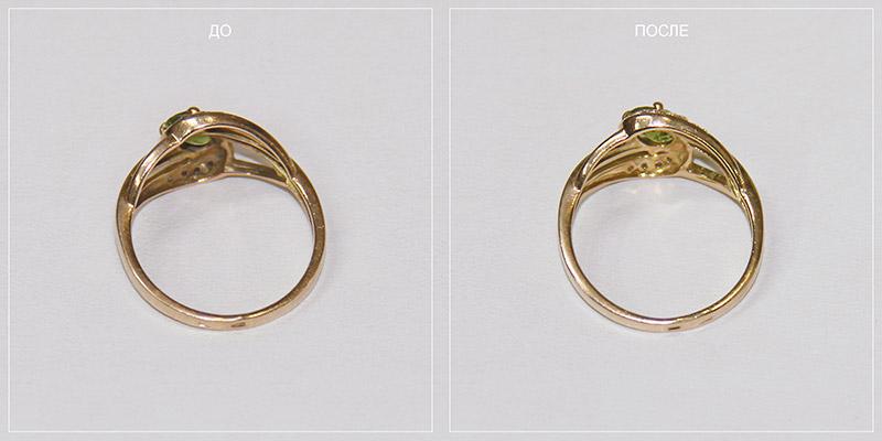 Реставрация золотых изделий до и после фото