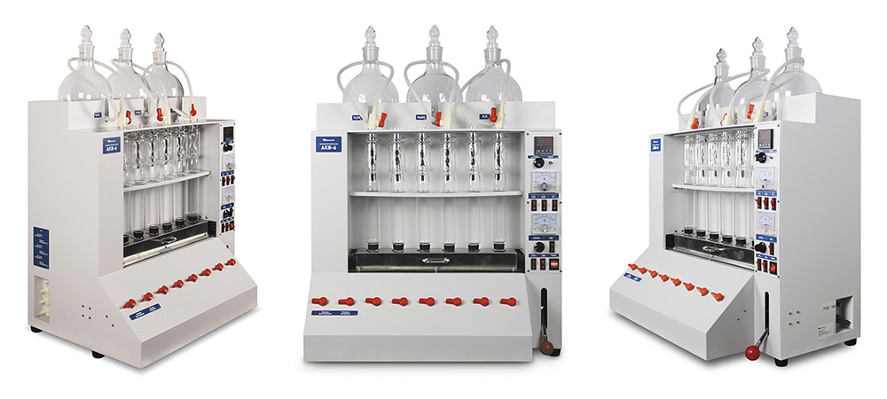 Полуавтоматическая система для определения сырой клетчатки АКВ-6