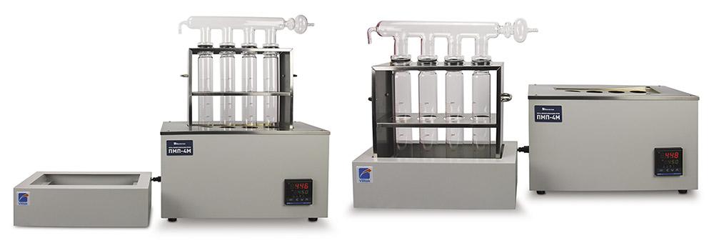 Дигесторы (печи минерализации) для анализа белка по Кьельдалю ПМП-4М